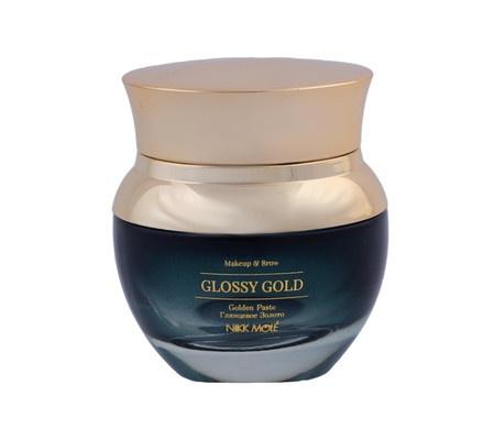 glossy gold